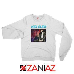 Kid Cudi Black Rap White Sweatshirt
