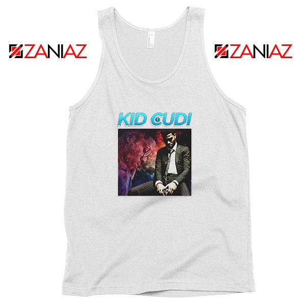 Kid Cudi Black Rap White Tank Top