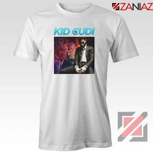 Kid Cudi Black Rap White Tshirt