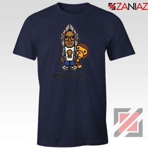 Kid Cudi Monkey Navy Blue Tshirt