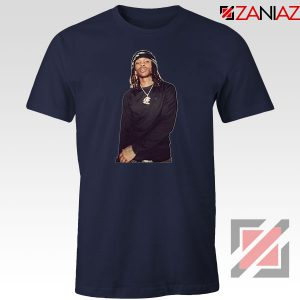King Von Rapper Navy Blue Tshirt