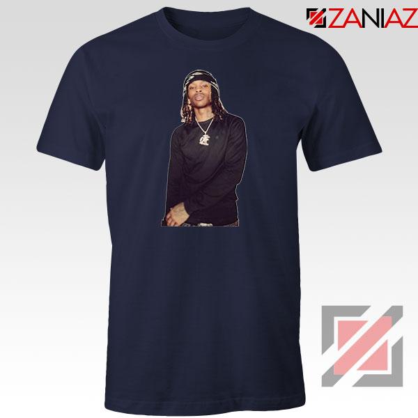 King Von Rapper Navy Blue Tshirt
