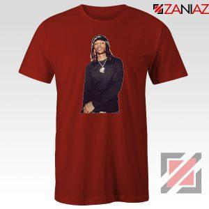 King Von Rapper Red Tshirt
