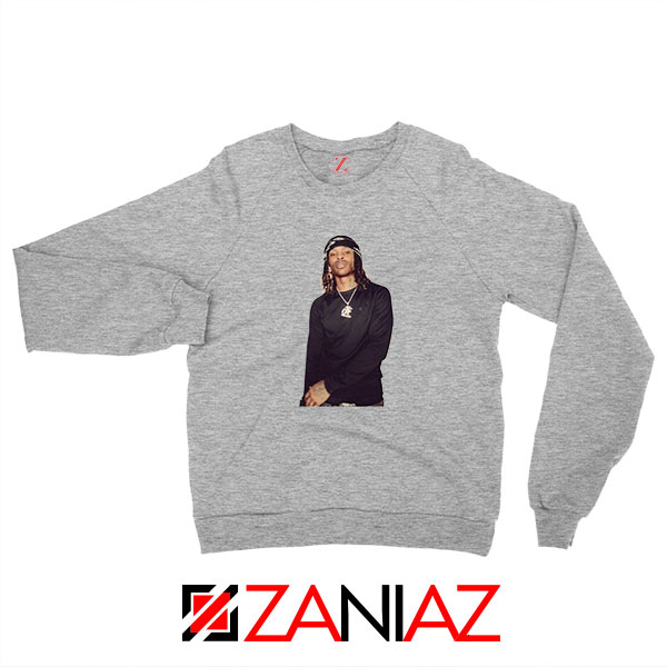 King Von Rapper Sport Grey Sweatshirt