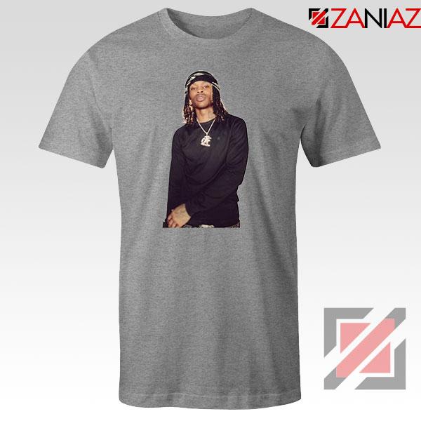 King Von Rapper Sport Grey Tshirt