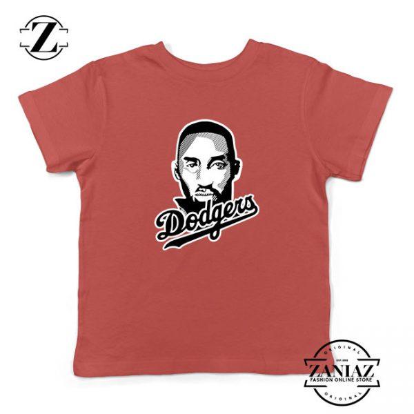La Dodgers Kids Red Tshirt