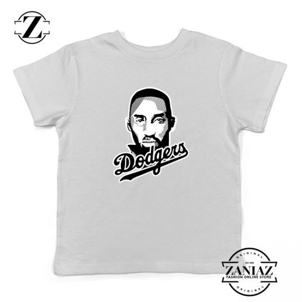 La Dodgers Kids White Tshirt