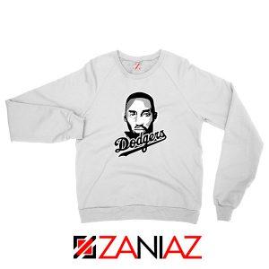 La Dodgers White Sweatshirt