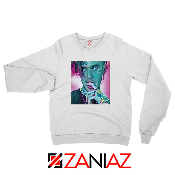 Lil Peep White Sweatshirt