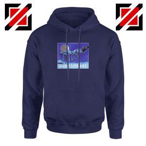 Merry Sithmas Navy Blue Hoodie