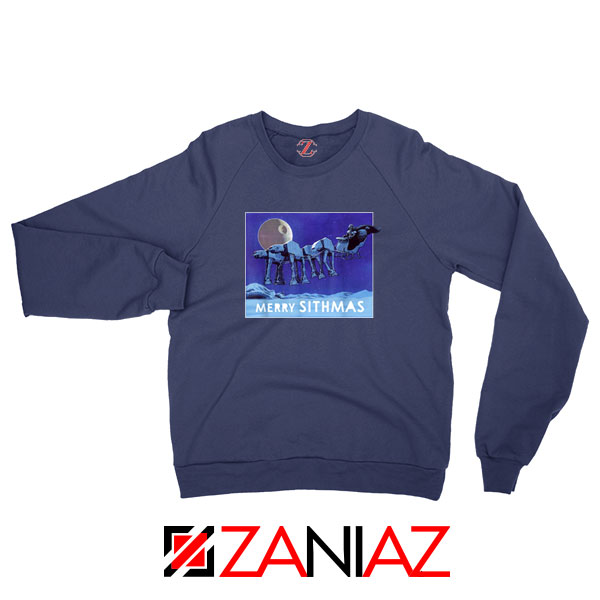 Merry Sithmas Navy Blue Sweatshirt