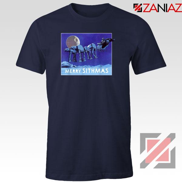 Merry Sithmas Navy Blue Tshirt