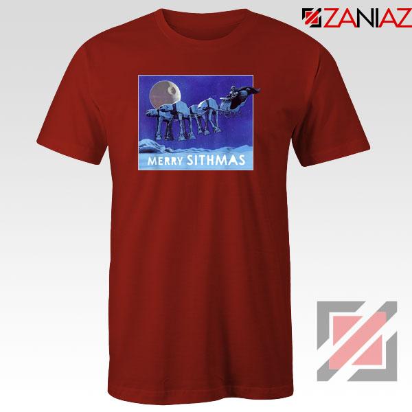 Merry Sithmas Red Tshirt
