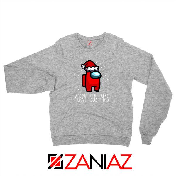 Merry Sus Mas Sport Grey Sweatshirt