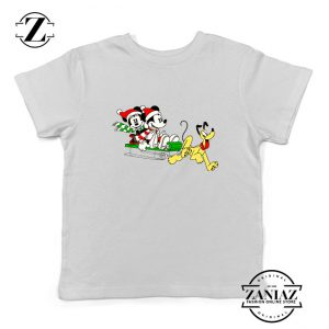Mickey Minnie Pluto Kids Tshirt