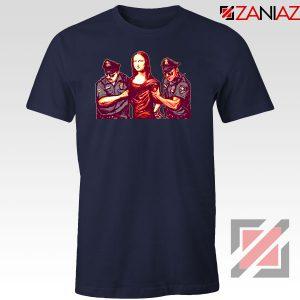 Mona Lisa Police Navy Blue Tshirt