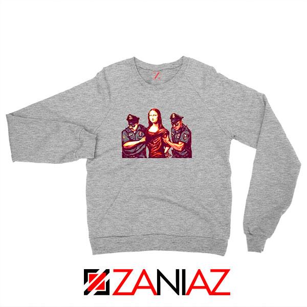 Mona Lisa Police Sport Grey Sweatshirt