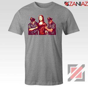 Mona Lisa Police Sport Grey Tshirt