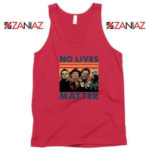 No Lives Matter Halloween Red Tank Top