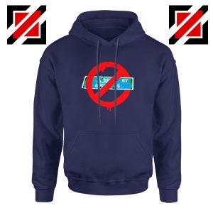 Not From 63rd Navy Blue Hoodie