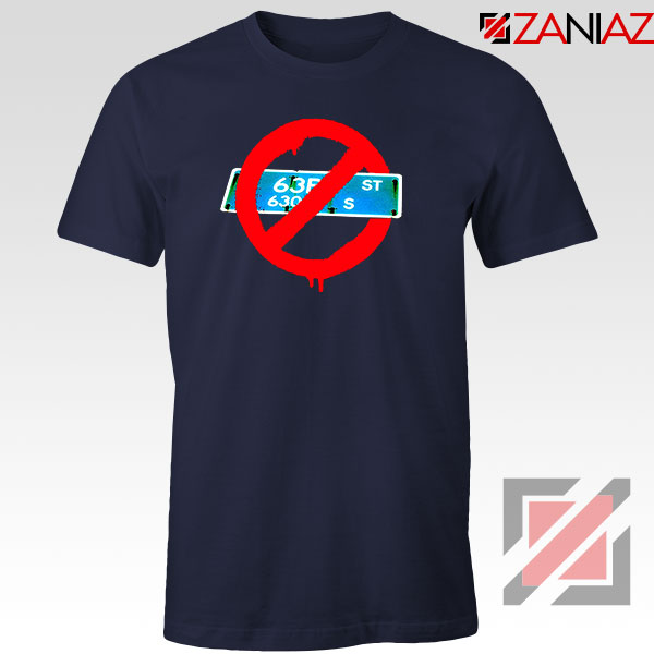 Not From 63rd Navy Blue Tshirt