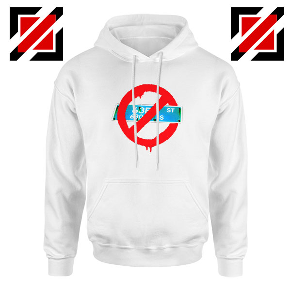 Not From 63rd White Hoodie