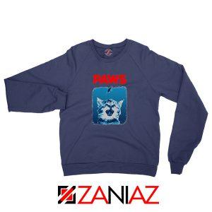 PAWS Cat Lovers Navy Blue Sweatshirt