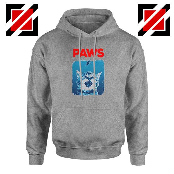 PAWS Cat Lovers Sport Grey Hoodie