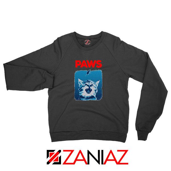 PAWS Cat Lovers Sweatshirt