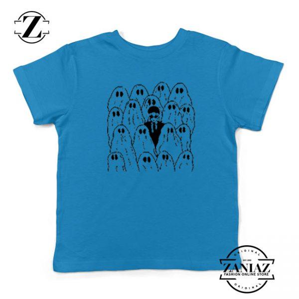 Phoebe Bridgers Ghost Kids Blue Tshirt