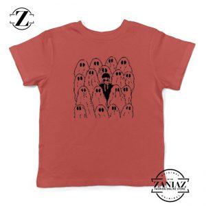 Phoebe Bridgers Ghost Kids Red Tshirt