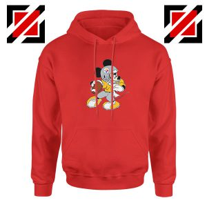 Pittsburgh Steelers Mickey Red Hoodie