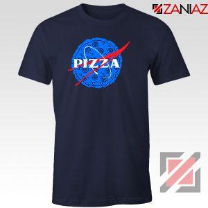 Pizza NASA Navy Blue Tshirt