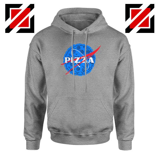Pizza NASA Sport Grey Hoodie