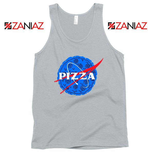 Pizza NASA Sport Grey Tank Top