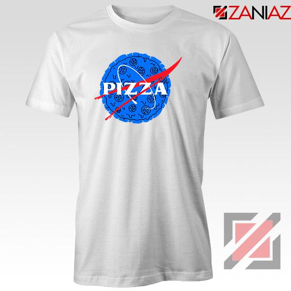 Pizza NASA White Tshirt