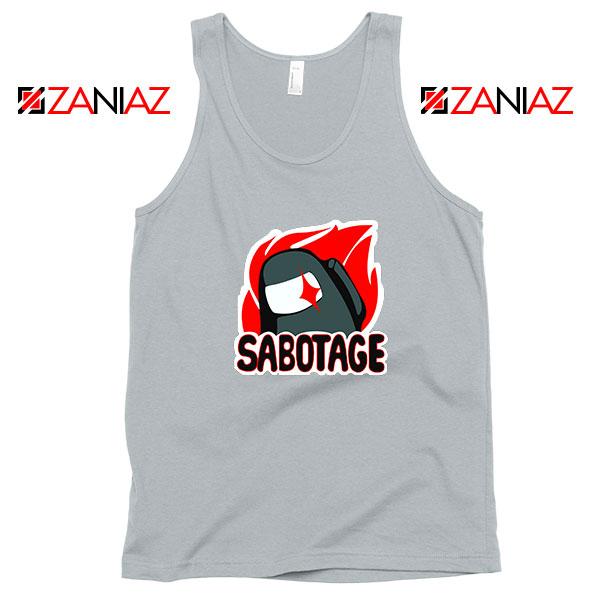 Sabotage Among Us Tank Top