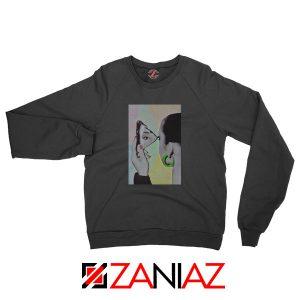 Sade Adu Looking Glass Black Sweatshirt
