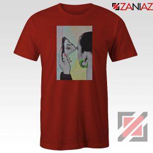 Sade Adu Looking Glass Red Tshirt