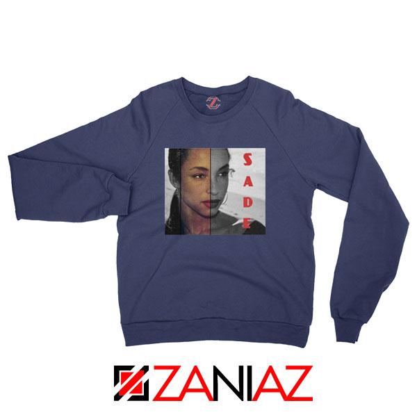 Sade Adu Musician Navy Blue Sweatshirt