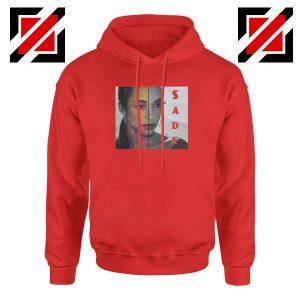 Sade Adu Musician Red Hoodie