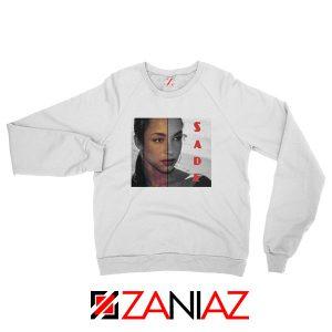 Sade Adu Musician White Sweatshirt