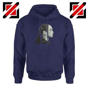 Sade Adu Singer Icon Navy Blue Hoodie