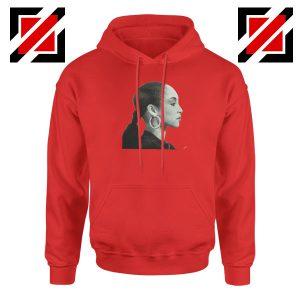 Sade Adu Singer Icon Red Hoodie