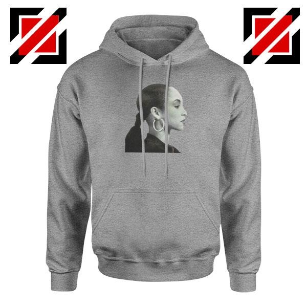 Sade Adu Singer Icon Sport Grey Hoodie