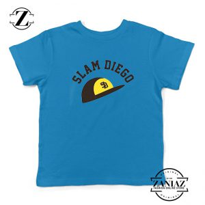 Slam Diego Team Kids Blue Tshirt