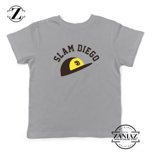 Slam Diego Team Kids Sport Grey Tshirt