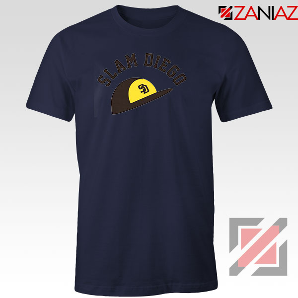 Slam Diego Team Navy Blue Tshirt