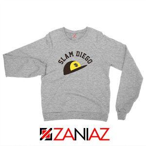 Slam Diego Team Sport Grey Sweatshirt
