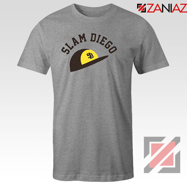 Slam Diego Team Sport Grey Tshirt